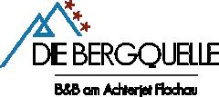 DIE BERGQUELLE | B&B Hotel Flachau Logo