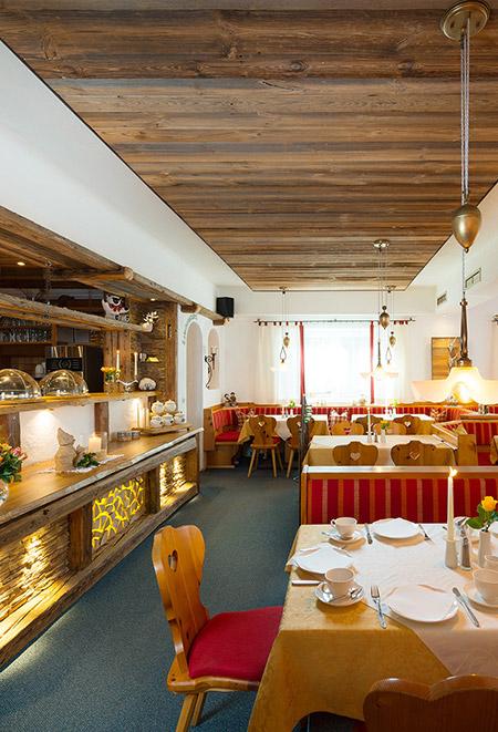 Die Bergquelle Bed Breakfast Hotel Flachau Salzburg Frühstück