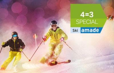 4=3 Special Ski amade Winterurlaub Flachau Salzburger Land Austria