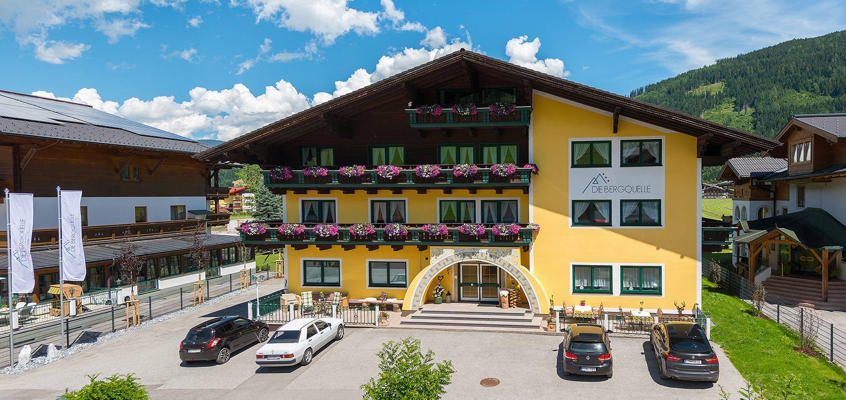 Sommerurlaub im BB Hotel Bergquelle Flachau Salzburg Austria