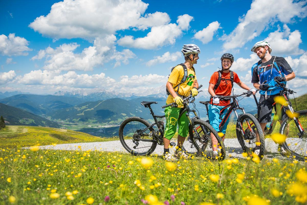 Rad- & Mountainbiken DIE BERGQUELLE Flachau