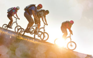 Rad- & Mountainbiken DIE BERGQUELLE Flachau Salzburg Österreich