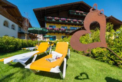 Sommerurlaub im B&B Hotel Die Bergquelle Flachau Salzburg Österreich