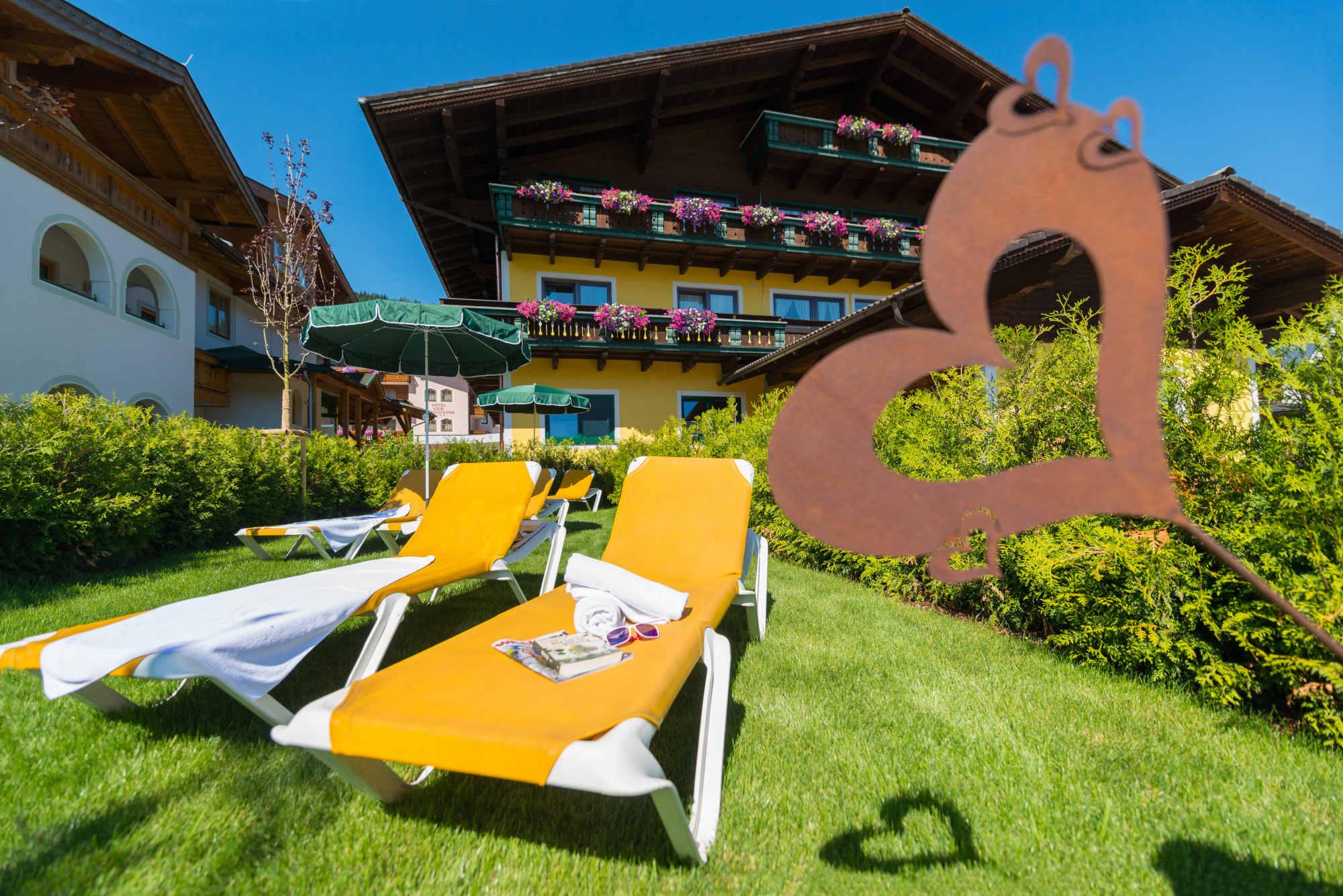 Spring renovations B&B Hotel Die Bergquelle Flachau Austria