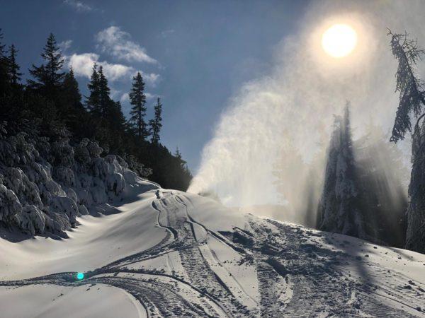 Winterstart 2018/19 DIE BERGQUELLE Flachau Salzburg Österreich