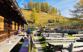 Naturgenießer im Bed & Breakfast Hotel Bergquelle Flachau Salzburg