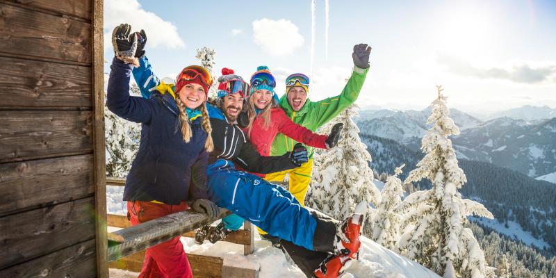 Ski holiday in Flachau in the B&B Hotel Die Bergquelle in Salzburg Austria