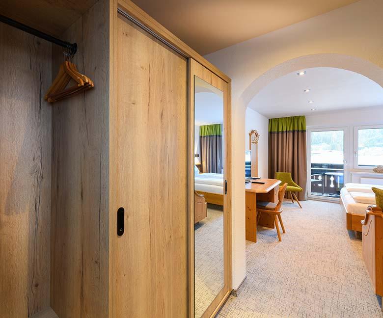 Doppelzimmer Comfort Urlaub im B&B Hotel DIE BERGQUELLE Flachau Österreich