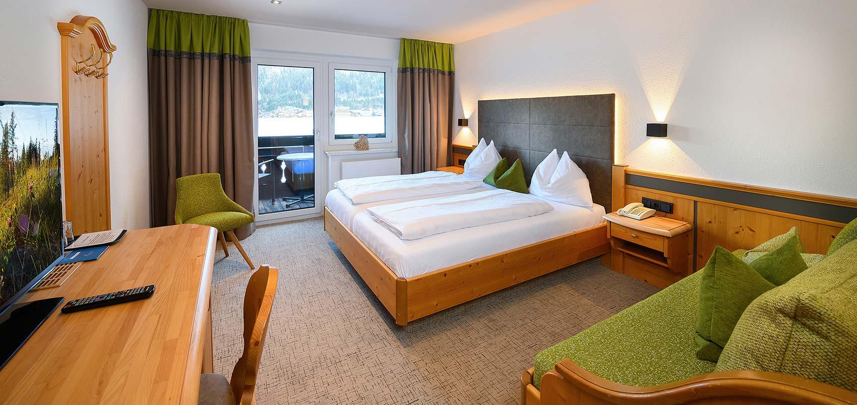 Doppelzimmer Comfort Urlaub in Flachau